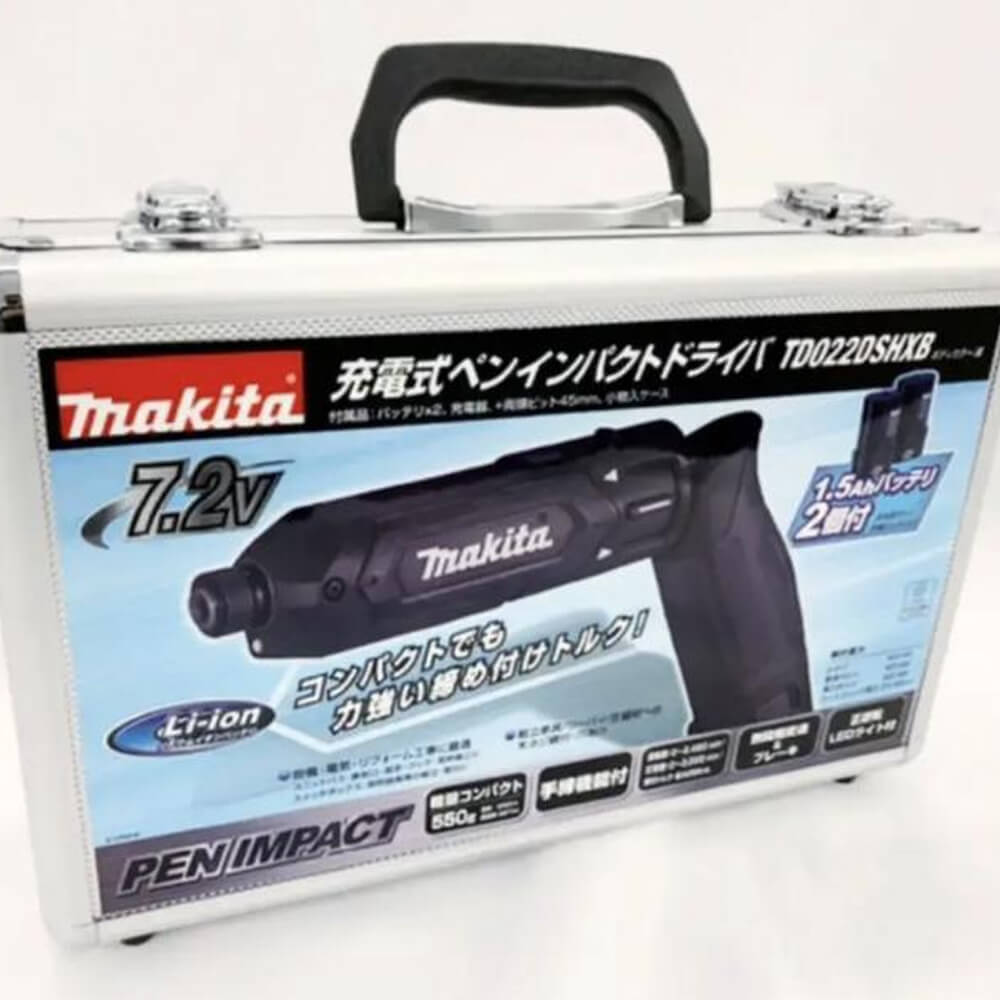 Makita(マキタ) 充電式ペンインパクトドライバ/TD022DSHXB
