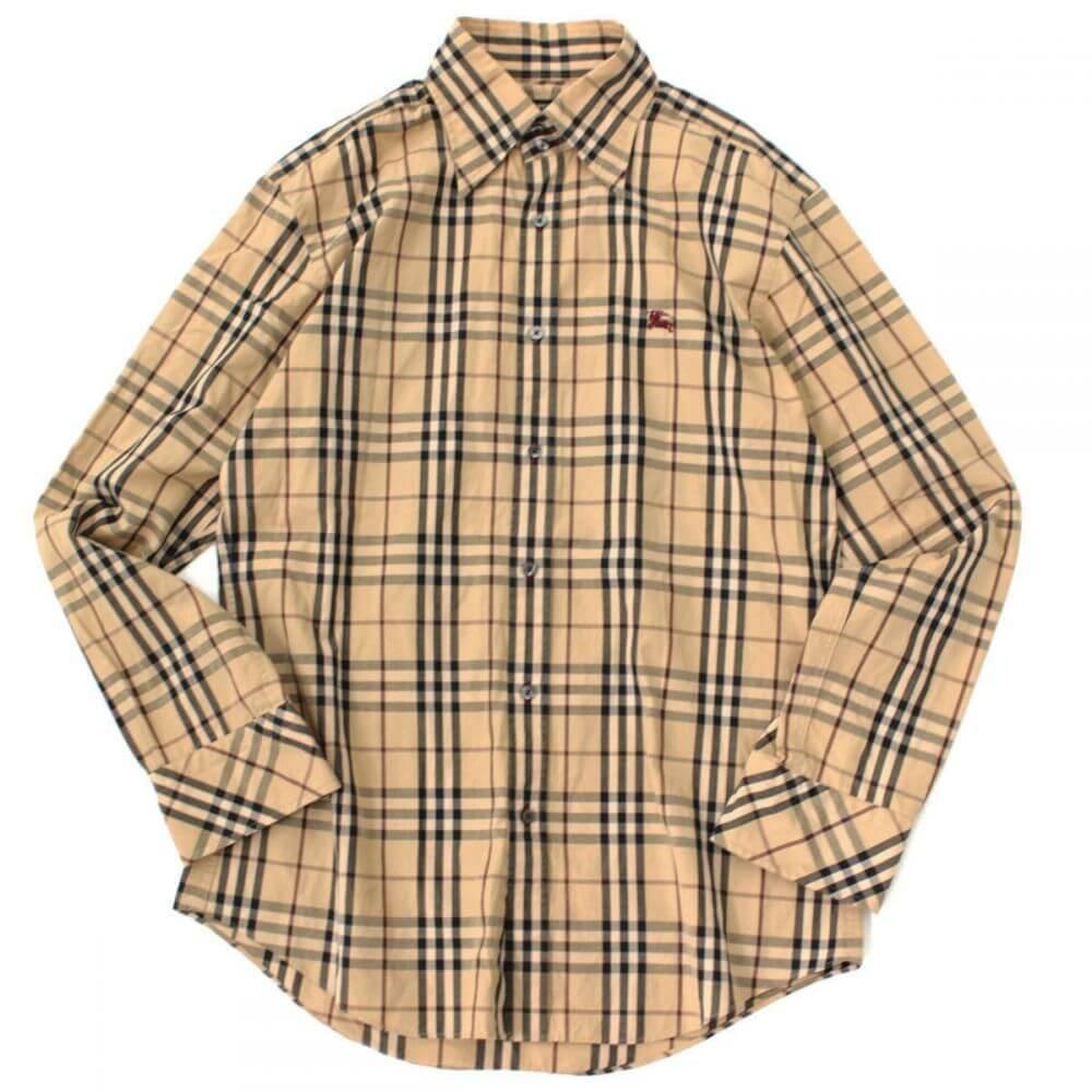 バーバリー ノバチェックシャツ