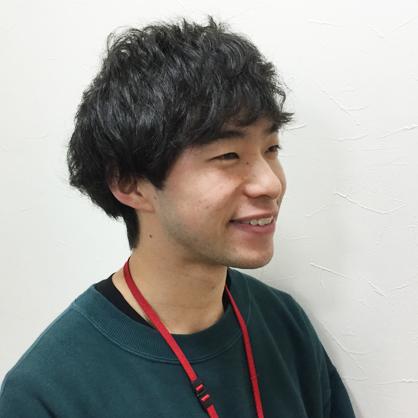 スタッフの写真hayato