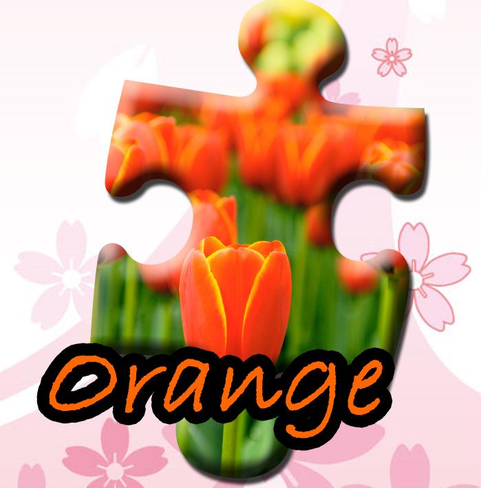 春物オレンジ